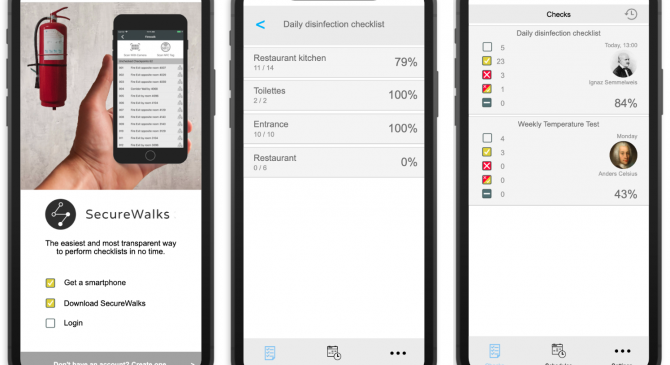 NEW: SecureWalks – for detailed documentation of safety, security and hygiene inspection rounds